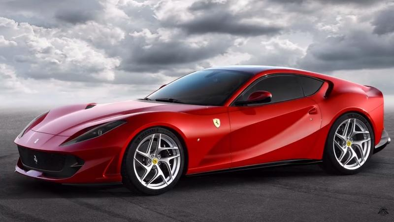 New Video Shows Us What the Ferrari 812 Superfast Would Look Like as a Mid-Engined Supercar