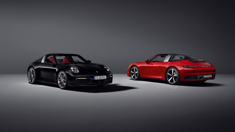 Porsche's 2021 911 Targa rounds up the 911 trifecta just in time for summer
