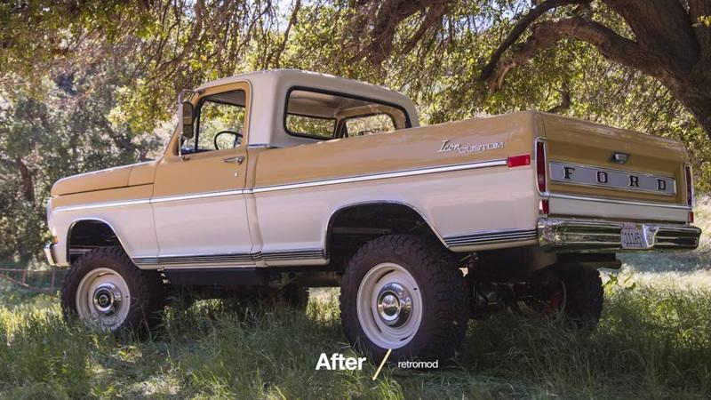 Restored: 1970 Ford F-100 Short Bed Pickup By Icon 4x4