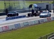 Tesla Model S Performance With The 'Cheetah Stance' Sets A New Quarter-Mile Record - image 907536