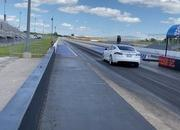 Tesla Model S Performance With The 'Cheetah Stance' Sets A New Quarter-Mile Record - image 907540