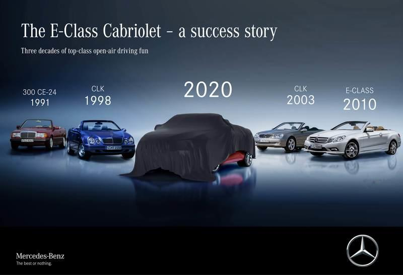 The 2021 Mercedes E-Class Coupe and Cabrio Are Set to Debut on May 27
