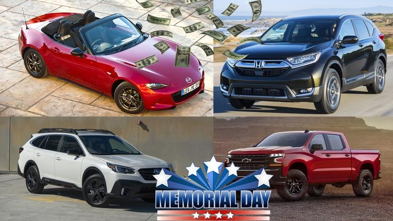 The Best Memorial Day 2020 Financing and Leasing Car Deals