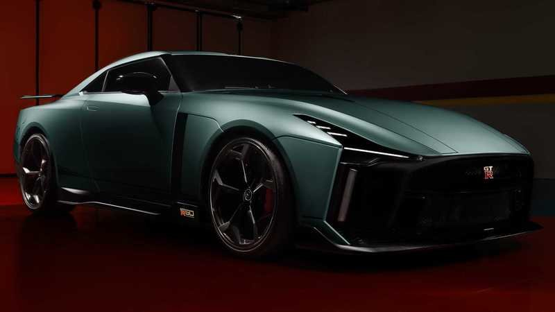 The First $1 Million Nissan GT-R50 Arrives With a Completely New Look - image 907495