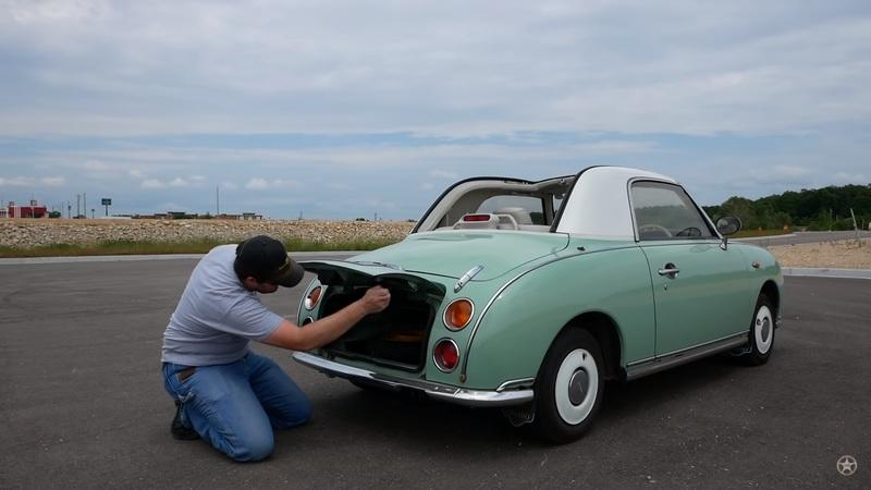 The Japanese Nissan Figaro Is a Car You Didn't Know Exists But Have Always Wanted
