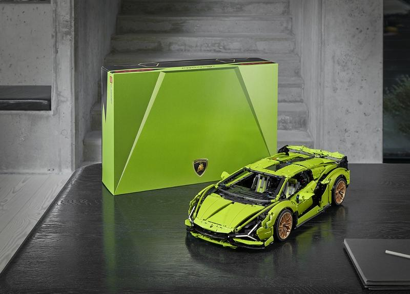 The Lamborghini Sian FKP 37 Lego Technic Kit Is Probably Everything Your Life Has Been Missing
