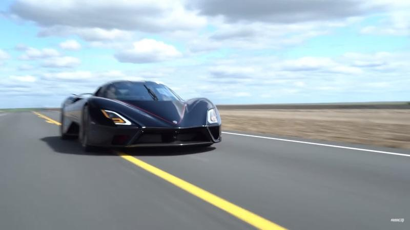 The SSC Tuatara Accelerates So Hard That You'll Lose Your Hair