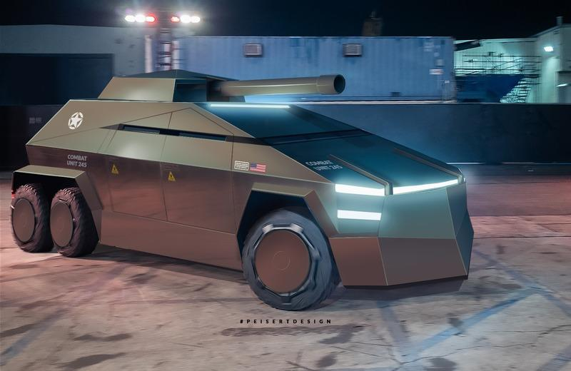 The Tesla Cybertruck Would Make a Pretty Awesome Armored Truck - image 902988