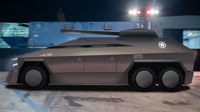 The Tesla Cybertruck Would Make a Pretty Awesome Armored Truck - image 902978