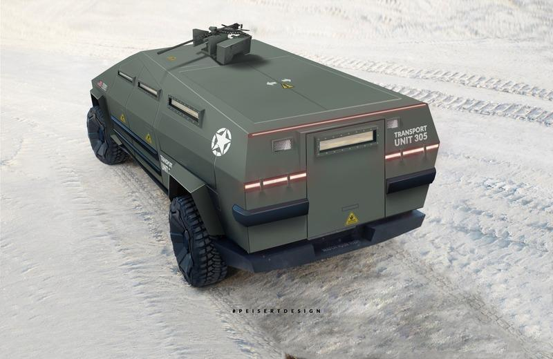 The Tesla Cybertruck Would Make a Pretty Awesome Armored Truck - image 902979