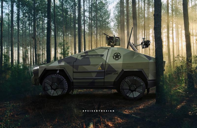 The Tesla Cybertruck Would Make a Pretty Awesome Armored Truck - image 902981