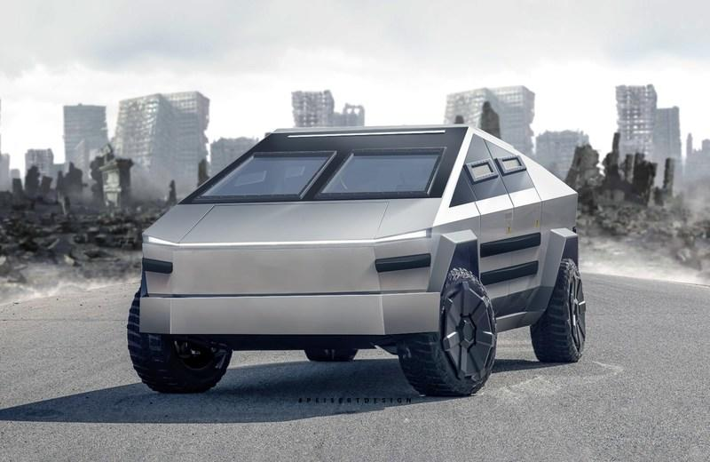 The Tesla Cybertruck Would Make a Pretty Awesome Armored Truck - image 902977