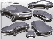 This Dacia Sentry Rendering Envisions An Unlikely Porsche Taycan Fighter - image 907877