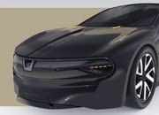 This Dacia Sentry Rendering Envisions An Unlikely Porsche Taycan Fighter - image 907858