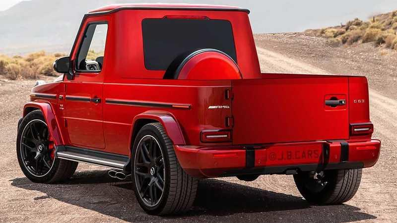 This G-Class Pickup Rendering Reminds Us of What the Mercedes X-Class Should Have Been