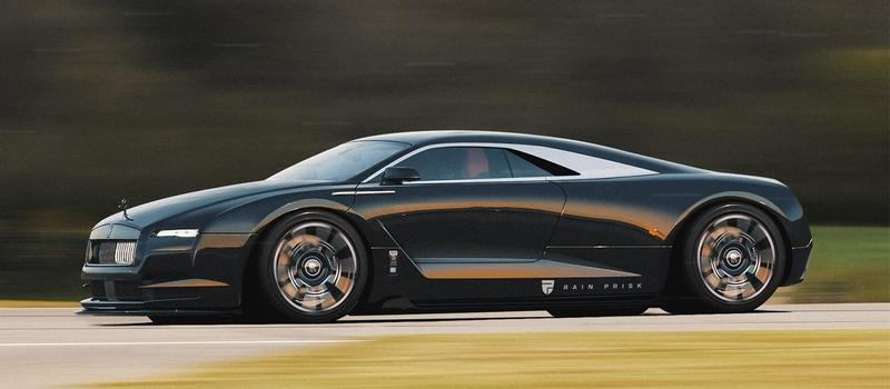 This Rendering Is a Stunning Example of What a Rolls-Royce Supercar Could Look Like