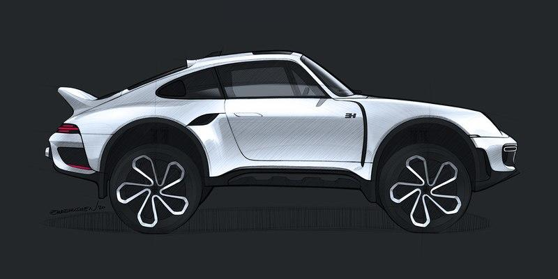 This Rendering of a 993-Gen Porsche 911 Safari Will Make You Question Your Automotive Beliefs