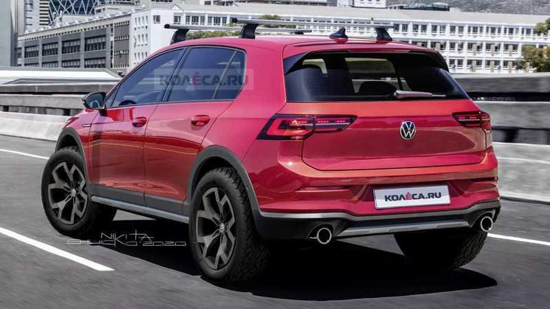 This Rendering Proves That The Rugged Volkswagen Golf Country Deserves to Live Today