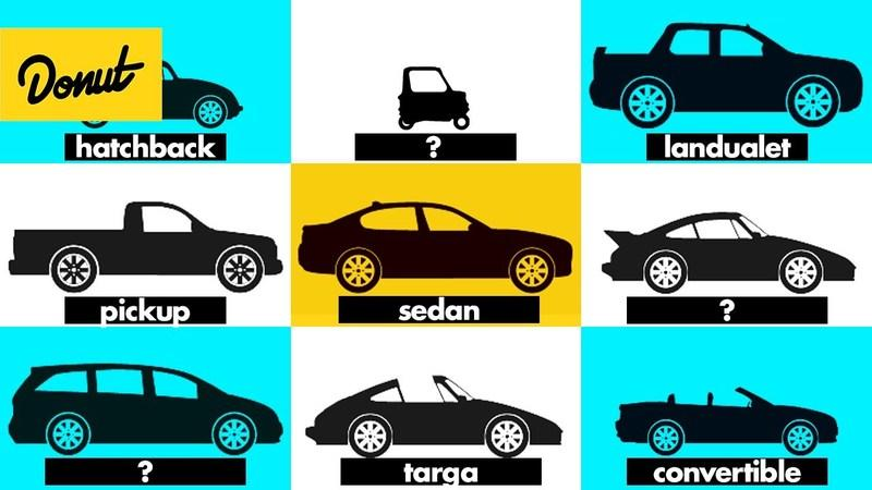 This Video Explaining ALL the Various Car Shapes Will Make You Question The Meaning of Life