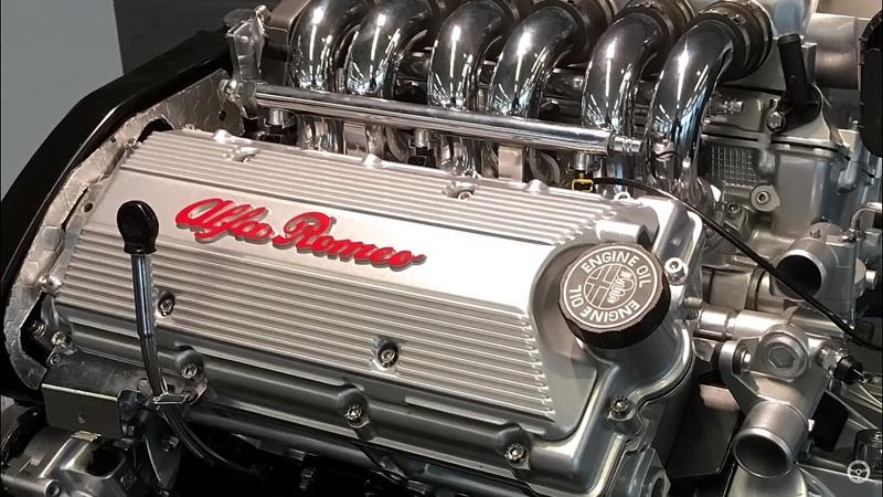 This Video Will Teach You Everything You Need to Know About Alfa Romeo's Busso V-6 Engine