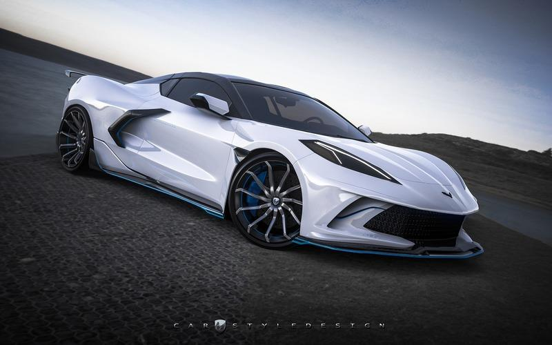 This Widebody C8 Corvette is the Mid-Engined Chevy We Deserved
