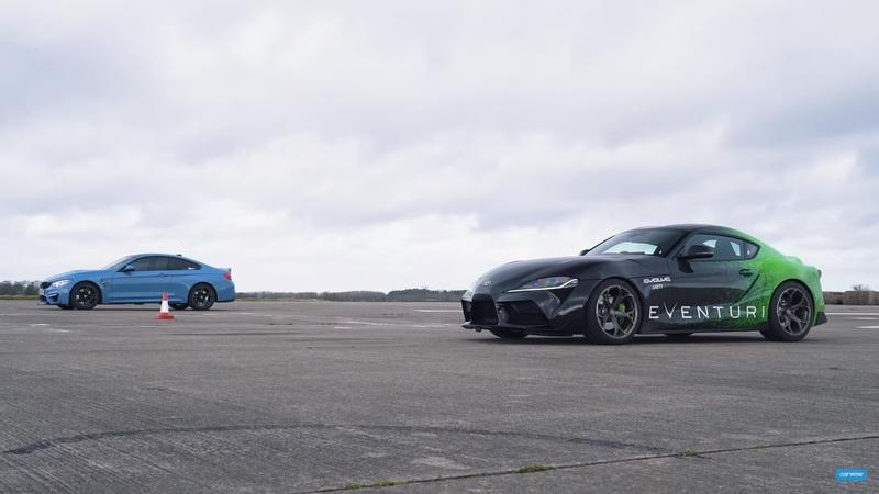 Tuned Toyota Supra Vs BMW M4: Which One Wins the Drag Race?