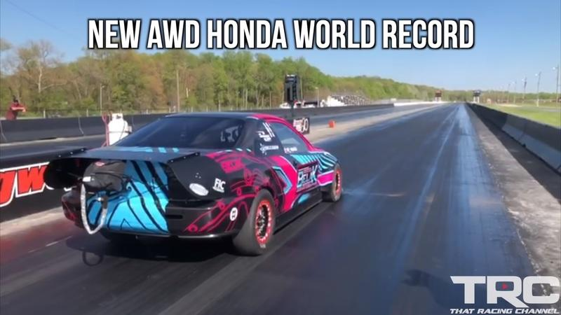 Watch a 1500-Horsepower, AWD Honda Civic (Kinda) Jolt to 60 MPH in just 1.1 Seconds - image 907698