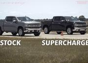 Watch The Hennessey Goliath 700 Take On A Stock Chevy Silverado - image 901114