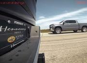 Watch The Hennessey Goliath 700 Take On A Stock Chevy Silverado - image 901111