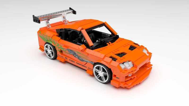 We Really Want This Lego Fast and Furious Supra, So Please Help Make It Happen