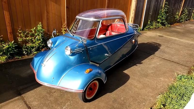 What Do You Know About this 10-Horsepower Messerschmitt KR200 Bubble Car?