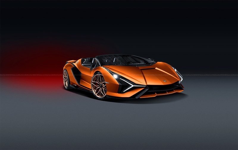 A Lamborghini Sian FKP37 Roadster Is In the Works, But Will It Have a Roof? - image 912295