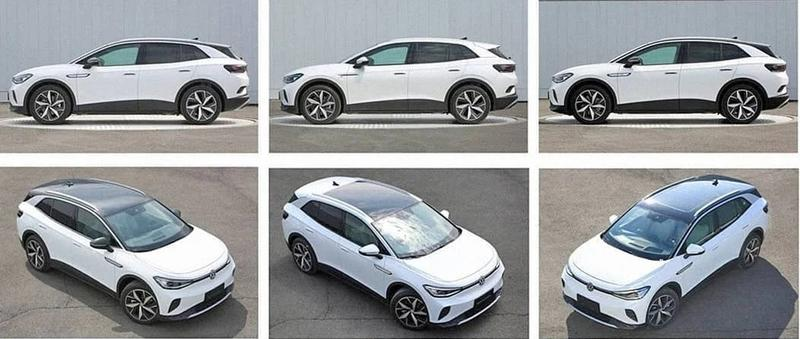 A New Leak Exposes the Volkswagen ID.4 and Its Various Wheel Options