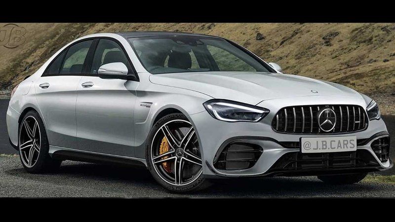 A New Rendering Hopes to Set Clear Expectations for the 2021 Mercedes-AMG C63