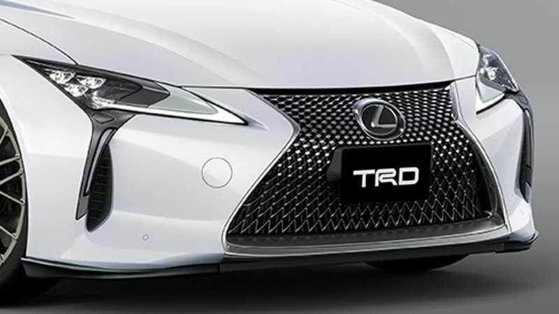 A Slurry of TRD Parts Is Coming For the Lexus LC Coupe Exterior - image 915320