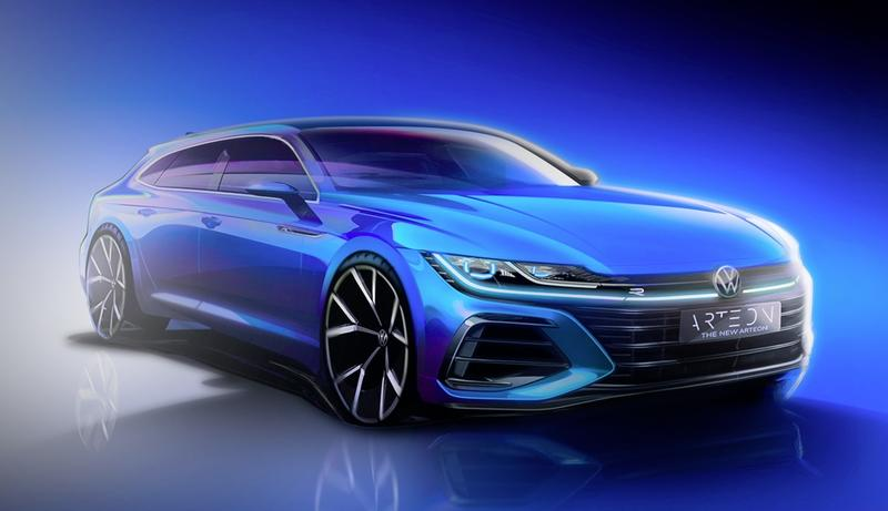 A Volkswagen Arteon Shooting Brake? Europe Has All the Awesome Cars - image 909761
