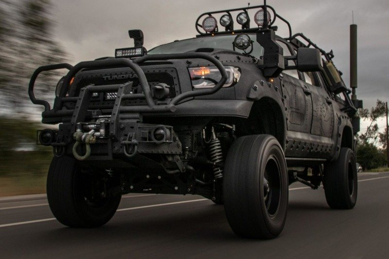 Armageddon-Ready Car For Sale: 2013 Toyota Tundra CrewMax