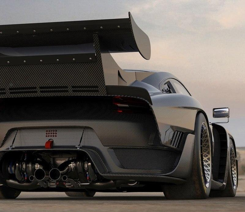 Big-Wing Porsche 935 Looks Ready to Storm Pikes Peak