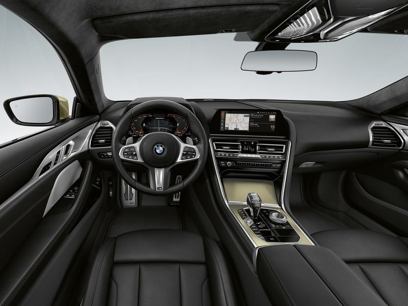 2020 BMW 8 Series Golden Thunder Edition Interior - image 914353