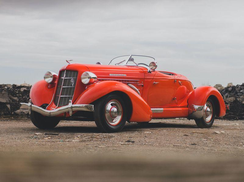 Car for Sale - 1935 Auburn Eight Supercharged Speedster