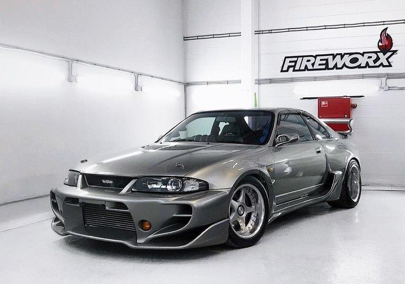 Car for Sale: Custom 1995 Nissan Skyline R33 GT-R by Vielside