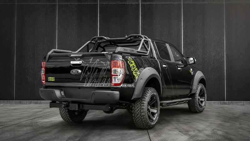 Carlex Design Has Made the Ford Ranger Look Way Tougher Than It Really Is Exterior - image 912041