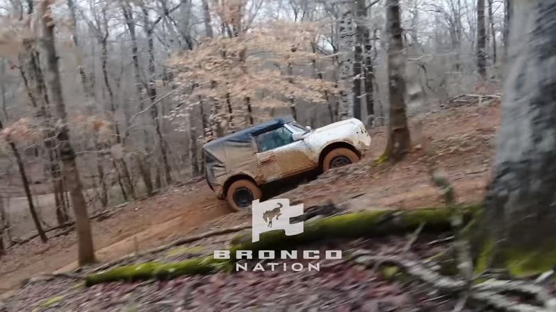 Watch in Amazement As The 2021 Ford Bronco Takes On The Wild With Ease