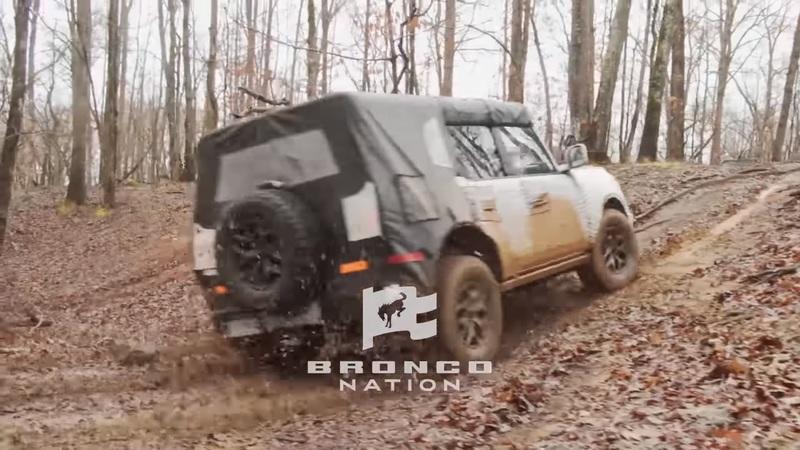 Watch in Amazement As The 2021 Ford Bronco Takes On The Wild With Ease - image 909244