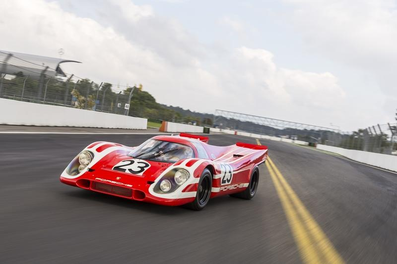 Driving a Porsche 917 Is Exiciting, Especially If You Can Do It On Public Roads