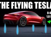 Engineering Explained Says the Tesla Roadster Can Get to 60 MPH in 1.1 Seconds With SpaceX Thrusters - image 912487