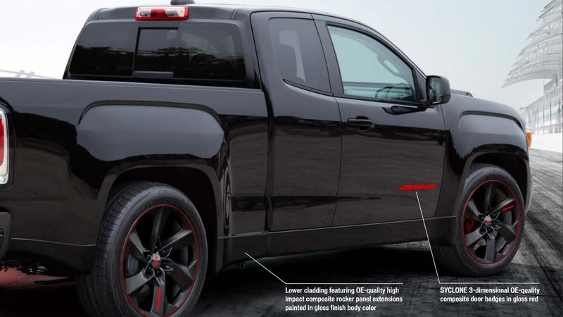 2021 GMC Canyon Syclone by Specialty Vehicle Engineering
