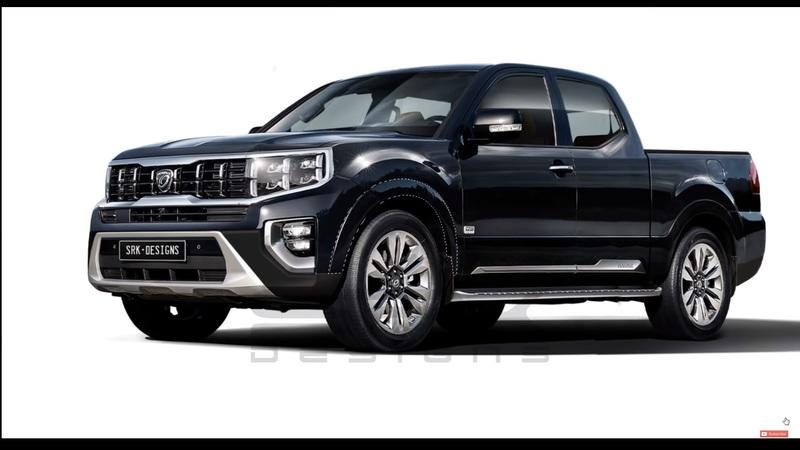 Here's What A Kia Mohave-Based Pickup Truck Would Look Like