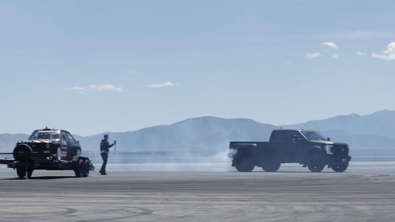 Ken Block Drifts An 8,000-Pound Ford F-450 Dually Because Of Course He Can - image 909280