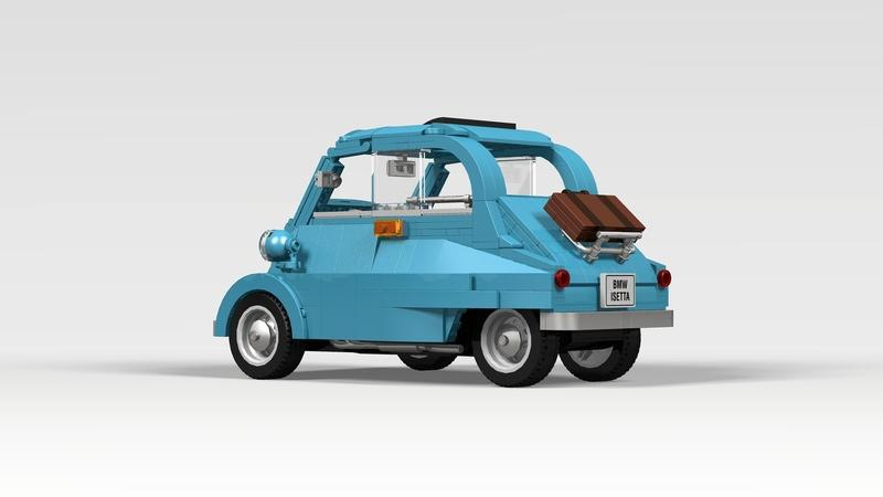 This Lego BMW Isetta Could Be the Cutest Set Ever